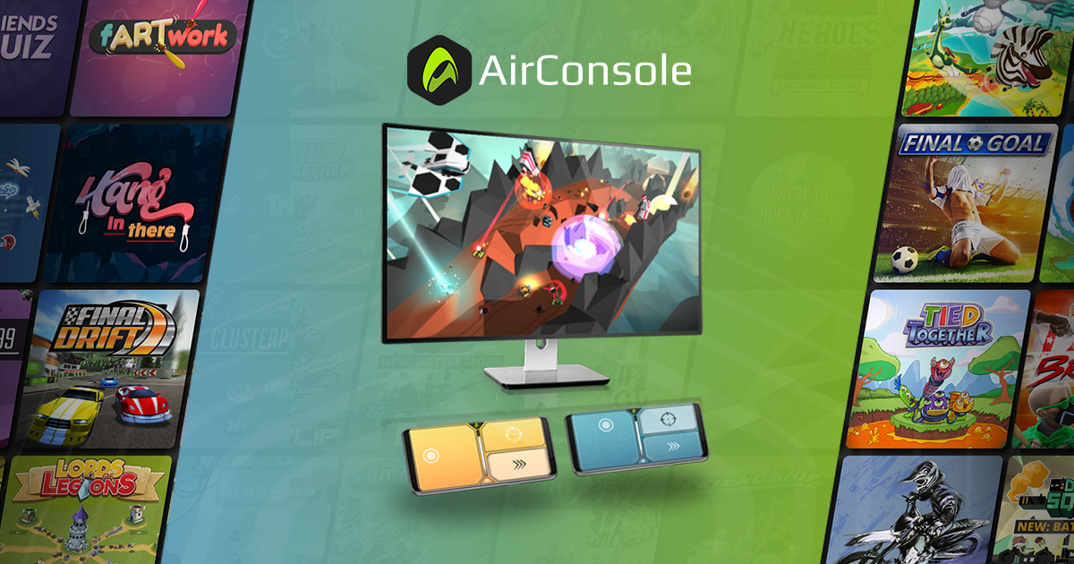 Airconsole Play Multiplayer Games Together