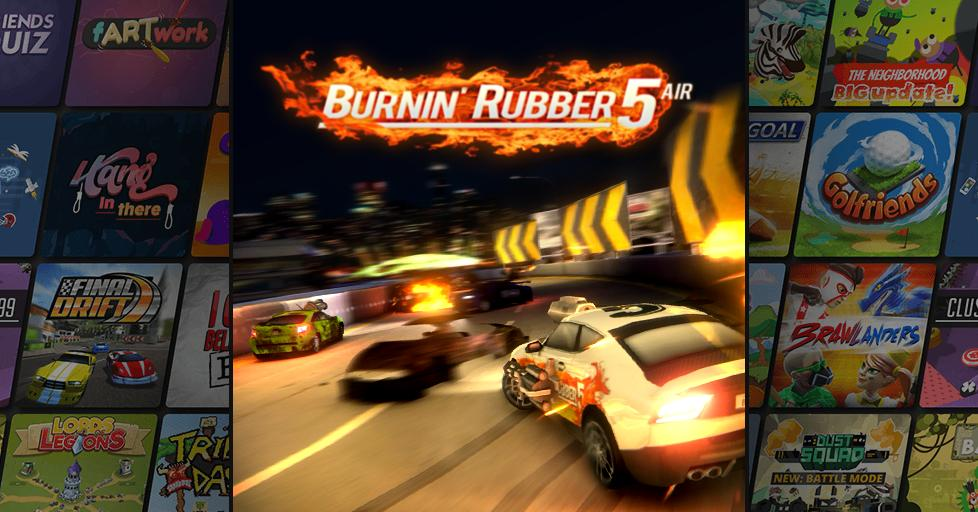 Play Burnin' Rubber 5 Air on AirConsole