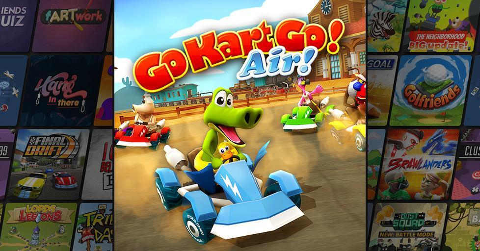 Play GoKartGo! Air! on AirConsole