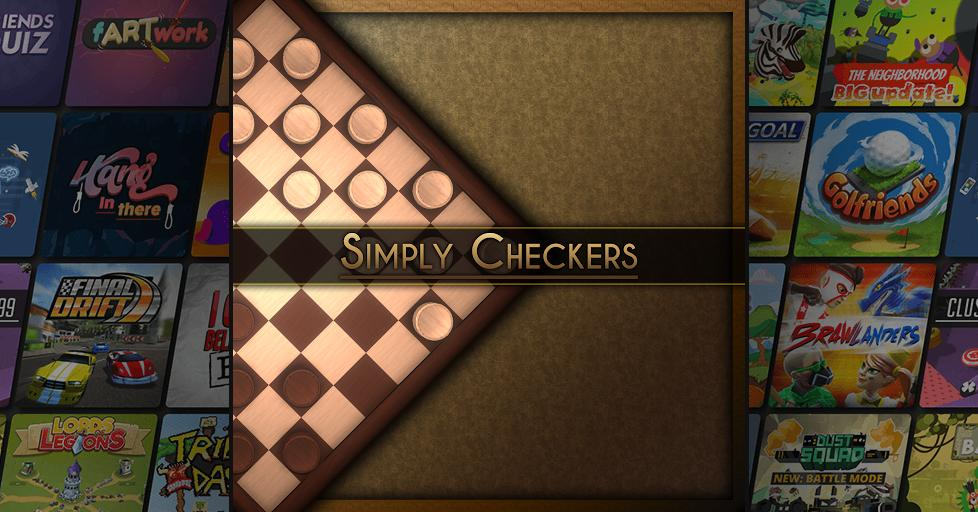 Play Simply Checkers on AirConsole