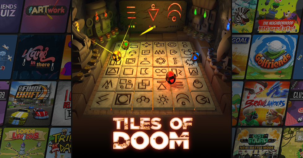 Tiles of Doom Multiplayer Party Game - AirConsole