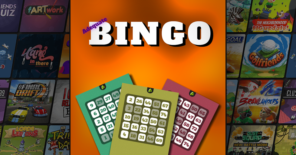 Adequate Bingo - Play Bingo Online - Multiplayer Game - AirConsole
