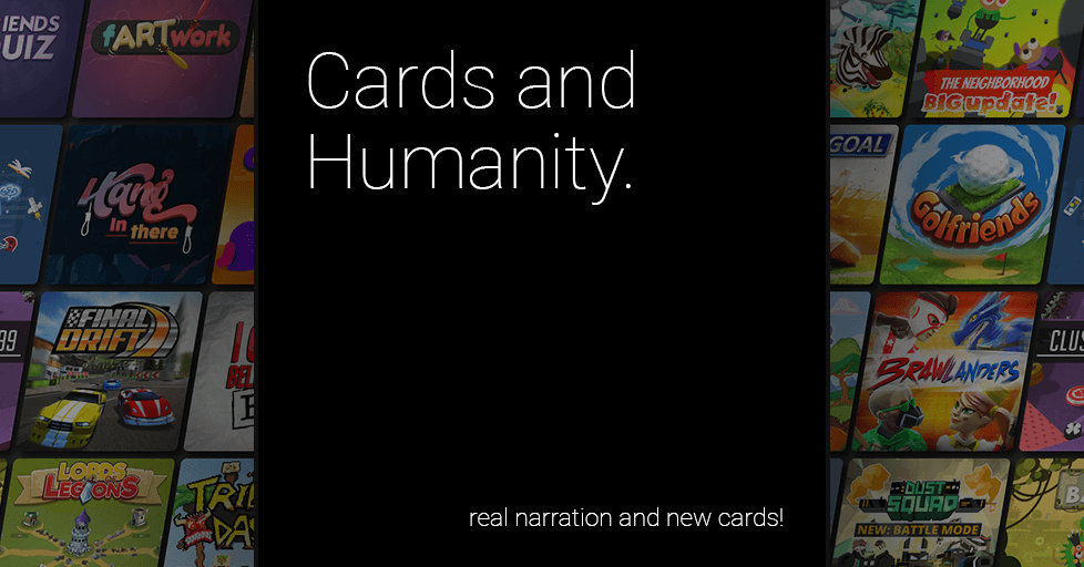 Cards and Humanity - Free to play with friends on AirConsole
