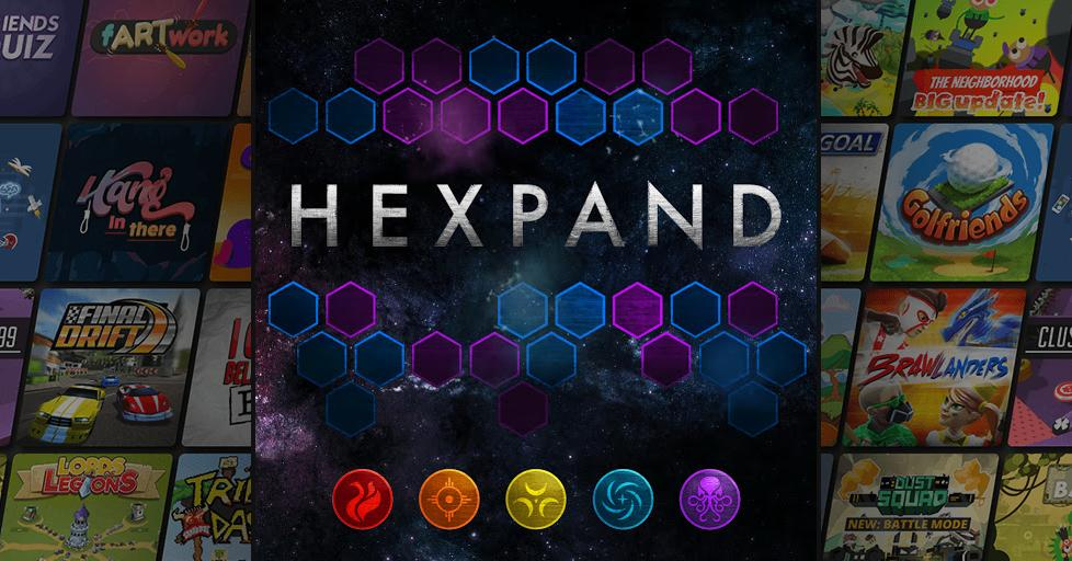 Play Hexpand on AirConsole