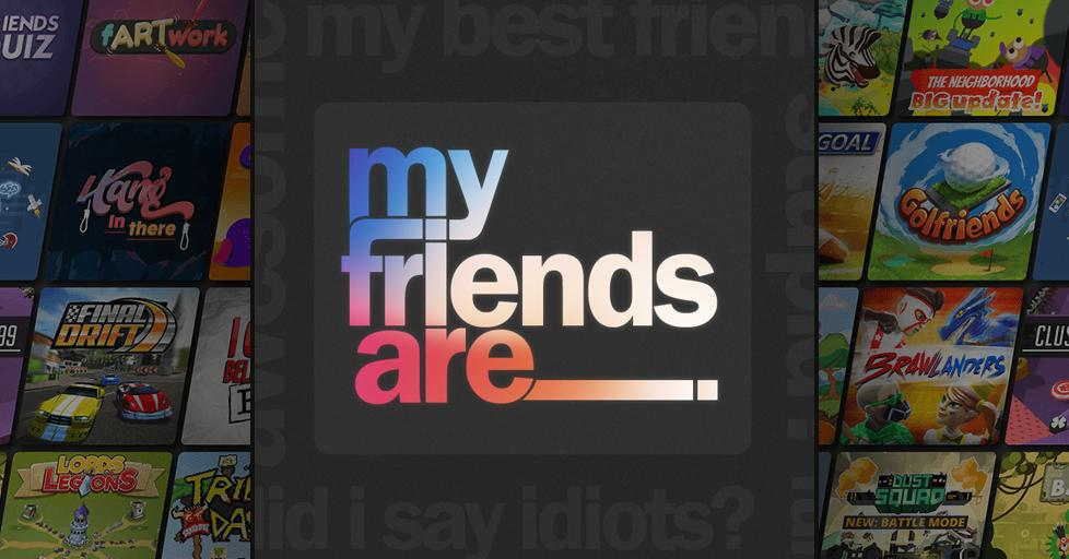 Play My Friends Are ___. on AirConsole
