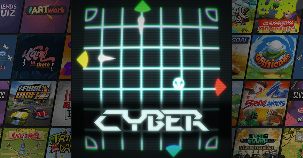Cyber Classic Arcade Multiplayer Game - AirConsole