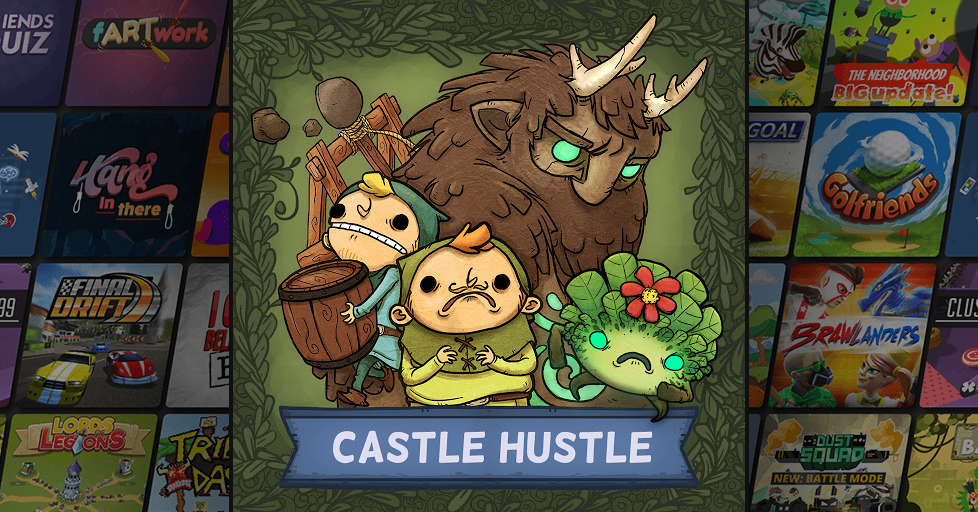 Castle Hustle Multiplayer Party Game - AirConsole