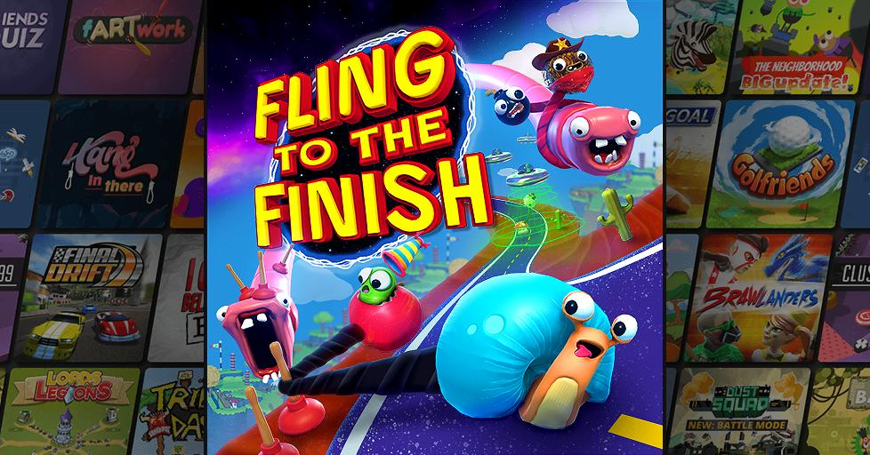 Play Fling to the Finish on AirConsole