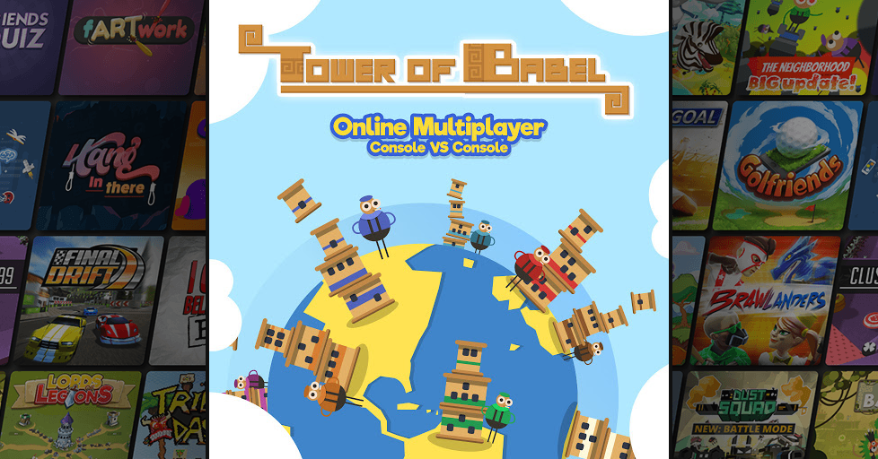 Tower of Babel Multiplayer Party Game - AirConsole