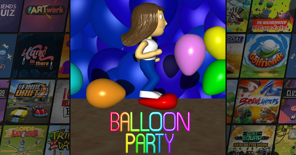 Balloon Party Free Multiplayer Game - AirConsole