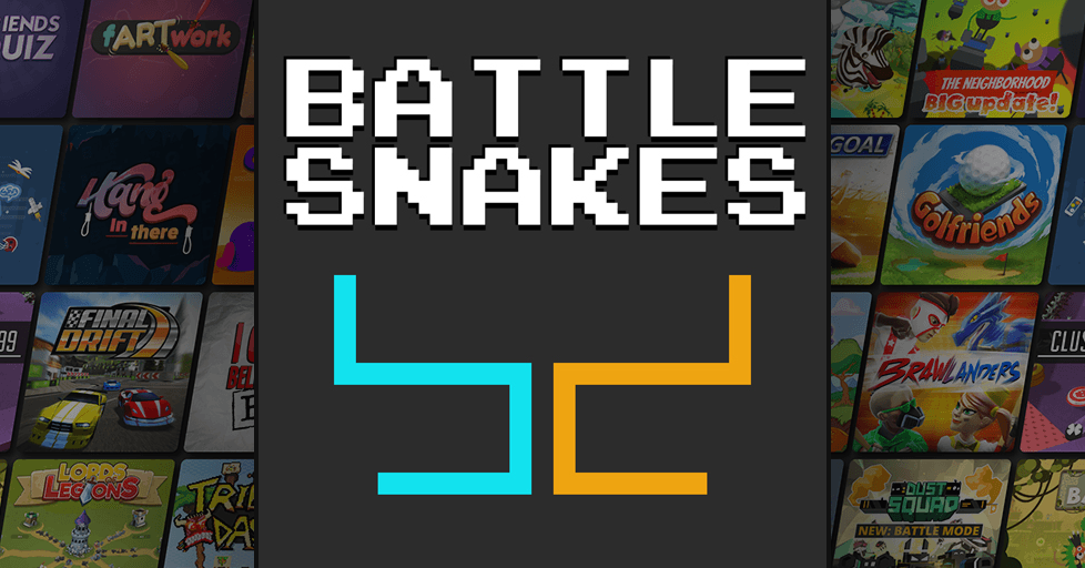 Battle Snakes Multiplayer Classic Arcade Game - AirConsole