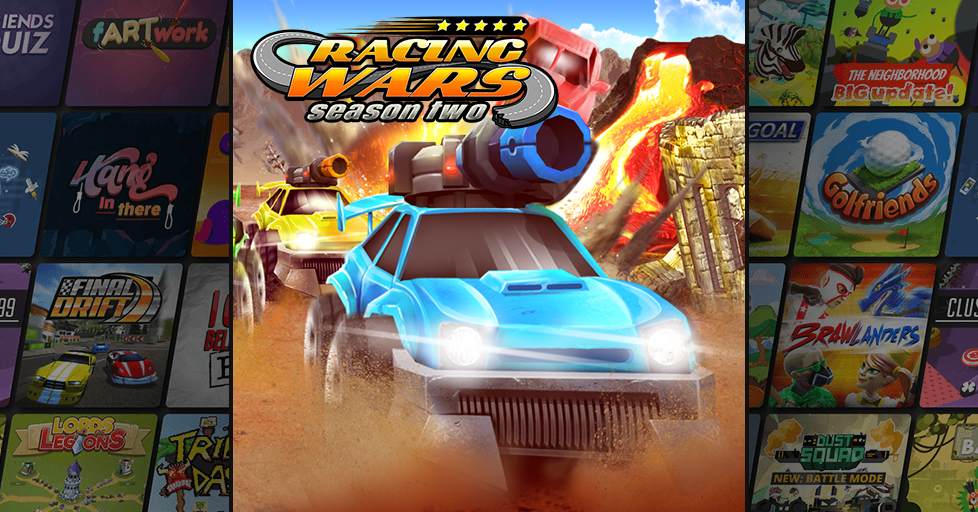 Racing Wars on AirConsole: Fun racing game with friends
