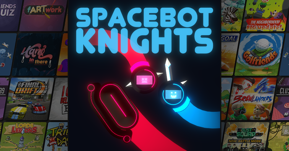 Play SpaceBot Knights - The best Multiplayer Games on AirConsole!