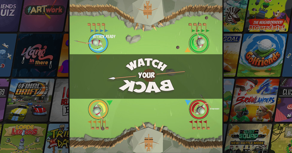 Watch Your Back - A Popular Classic Arcade Multiplayer Game - AirConsole