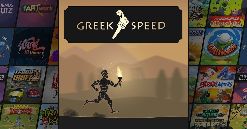 Greek for Speed Cooperative Multiplayer Party Game - AirConsole