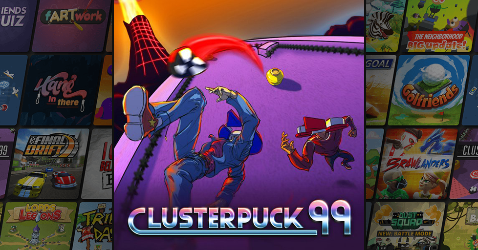 Play ClusterPuck 99 - The best Sport Games on AirConsole!