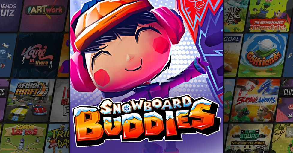 Play Snowboard Buddies on AirConsole