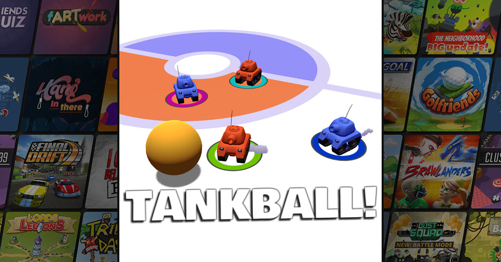Tankball! Multiplayer Party Game - AirConsole